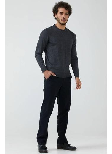 Sementa Erkek Cepli Kanvas Pantolon - Siyah Siyah